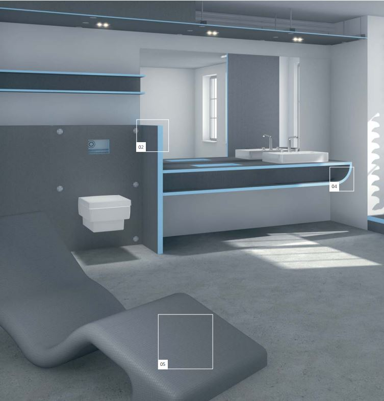 Wedi Bathroom Products Edmonton Edmonton Water Works Renovations