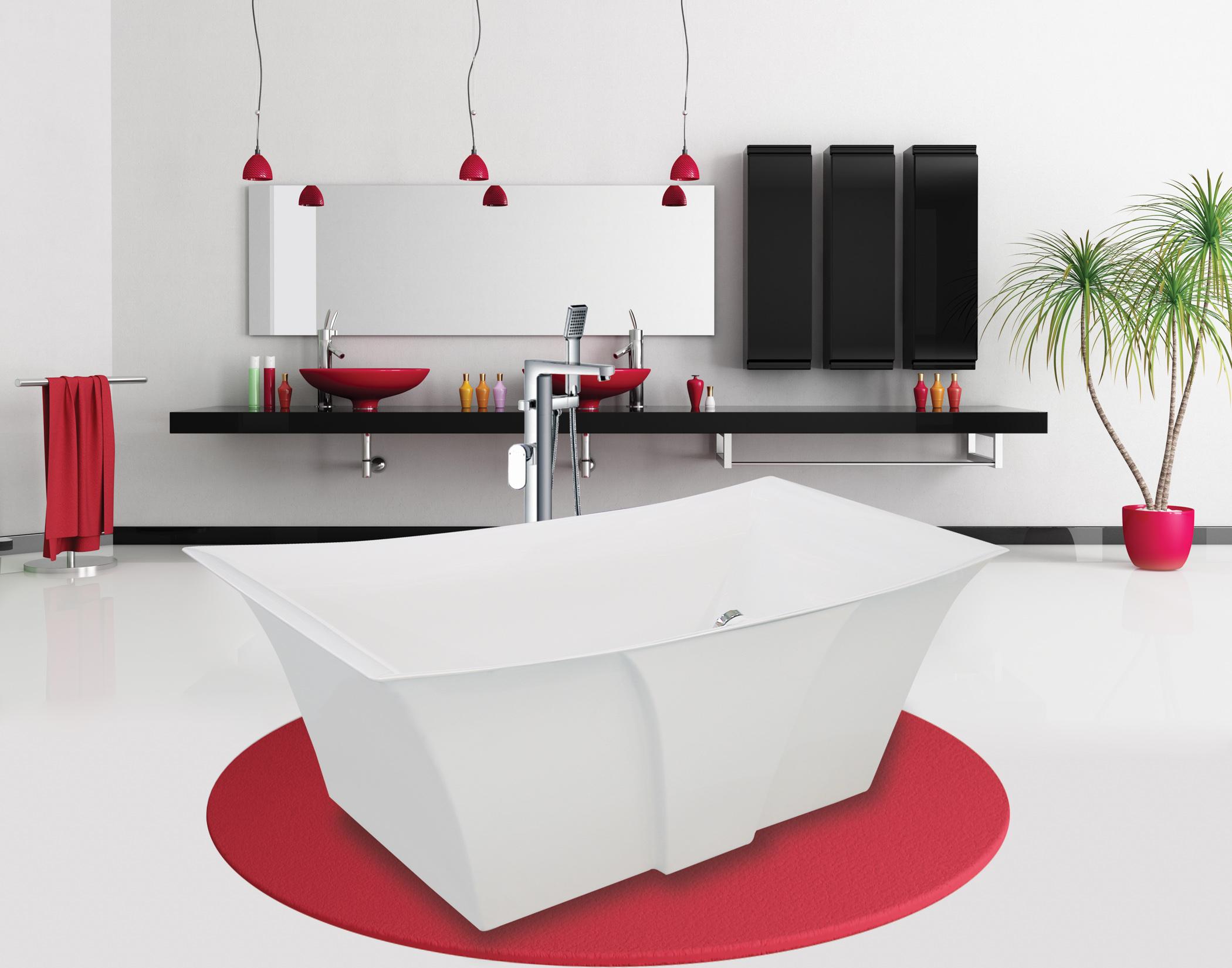 Contemporary Bathroom Edmonton Water Works Bathroom